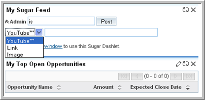 Chapter 2 Navigating the User Interface To manage Sugar Dashlets 1.