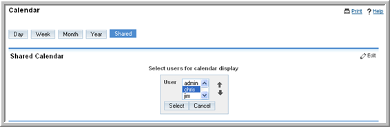 Calendar Module Managers have permissions to view, edit, and delete their subordinates appointments. Subordinates can only view their Manager s appointments as free/busy time.