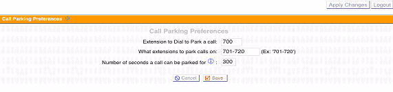 Destination: Select the destination for the incoming call. You can choose to send the call to either an interactive voice menu, specific extension, voicemail box, ring group, and so on.