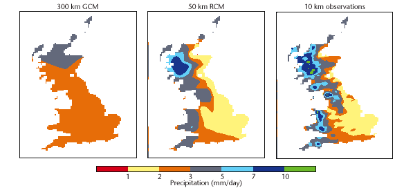 Regional Climate Model (RCM) Their main advantage is that they allow for higher resolution climate modelling.