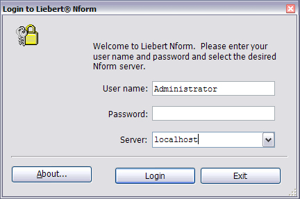 Getting Started With Liebert Nform 4.