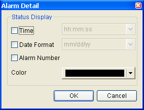 3.8.13 Alarm Elements Fig. 3-8-30 Alarm Elements 3.8.13.1 Alarm History Table Property Description of Alarm History Table Elements HMI will monitor and read the read address in a fixed time automatically.