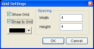 3.7.9 Grid Setup Grid Setup is a function that can help the user to align and position the element more easily and precisely.