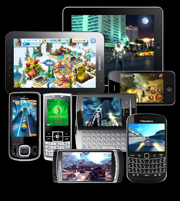DEVICES OS STORE Gameloft develops its games on 7000 smartphone & 350 feature phone models in 16 languages and on multiple operating systems (ios. Android. WP8. etc.