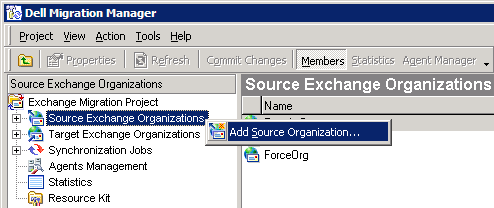 These settings are in the Migration Manager for Active Directory console. Expand the node of the appropriate domain pair, and open the properties of the Synchronization node under it.