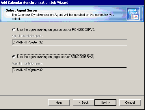 Step 6. Complete the Wizard and Commit Changes After the agent is installed, the wizard will inform you that you can start the legacy calendar synchronization job.