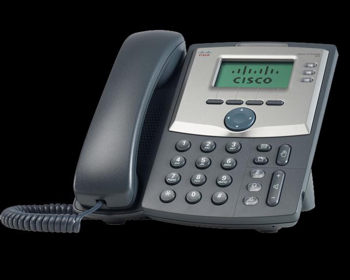 CISCO SPA525G purchase $240 rental $13/month* 5-Line desktop IP phone supporting up to two SPA500S (32 button) expansion modules Enhanced connectivity with PoE and Wi-Fi client mode Embedded SSL VPN