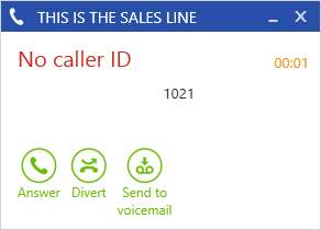 Phone Manager 49 4.2 Call Banner Profiles 4.2.1 Overview Banner profiles control how the Phone Manager toaster popup is displayed when calls are received at the client.