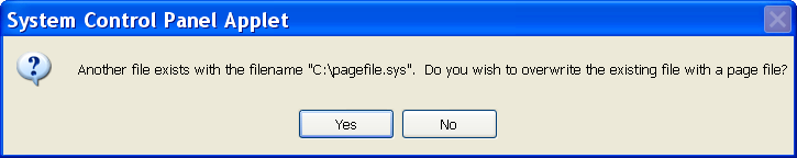 Click CHANGE in the Virtual Memory section. You will now see that the paging file has a zero size : As shown above, change the paging file setting to System managed size.