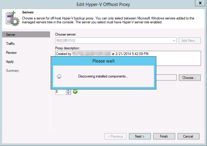 24 We now navigate to our new Hyper-V cluster and see the CSVs we have available