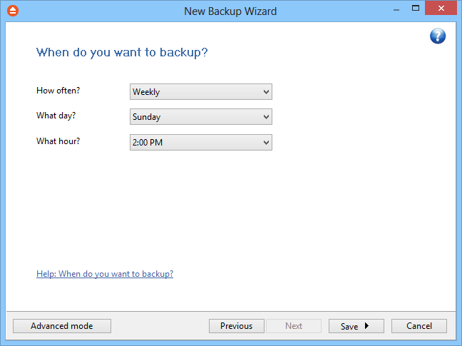 46 FBackup 5 Use this option if you want to add zip protection to your backups. Type the password you want to use for this backup.