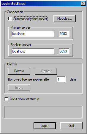 2.4 Client Settings Backup Server Software Setup 65 Settings are also required on the client software side. Make sure you have the backup server's IP address and Port number handy. 1.