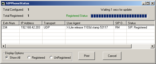 1.5 Allowing SIP Extn/User Auto Creation 1.Note that changing the SIP registrar settings of an system requires the system to be rebooted. 2.Using Manager, receive the system configuration. 3.