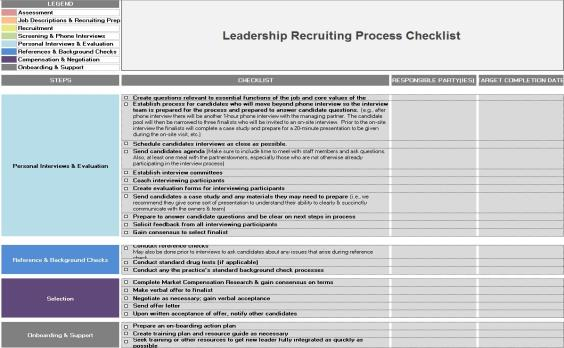 Step 4: Recruit if Necessary Consider the