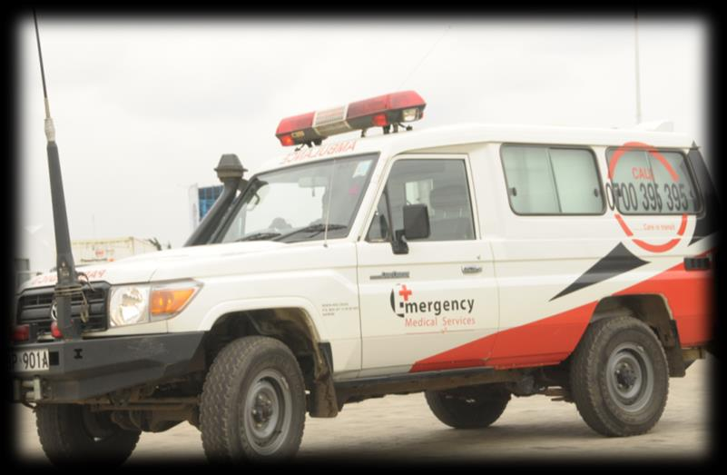 Types of Ambulances and their Features Land Cruiser The ambulance Patient Compartment is fully airconditioned.