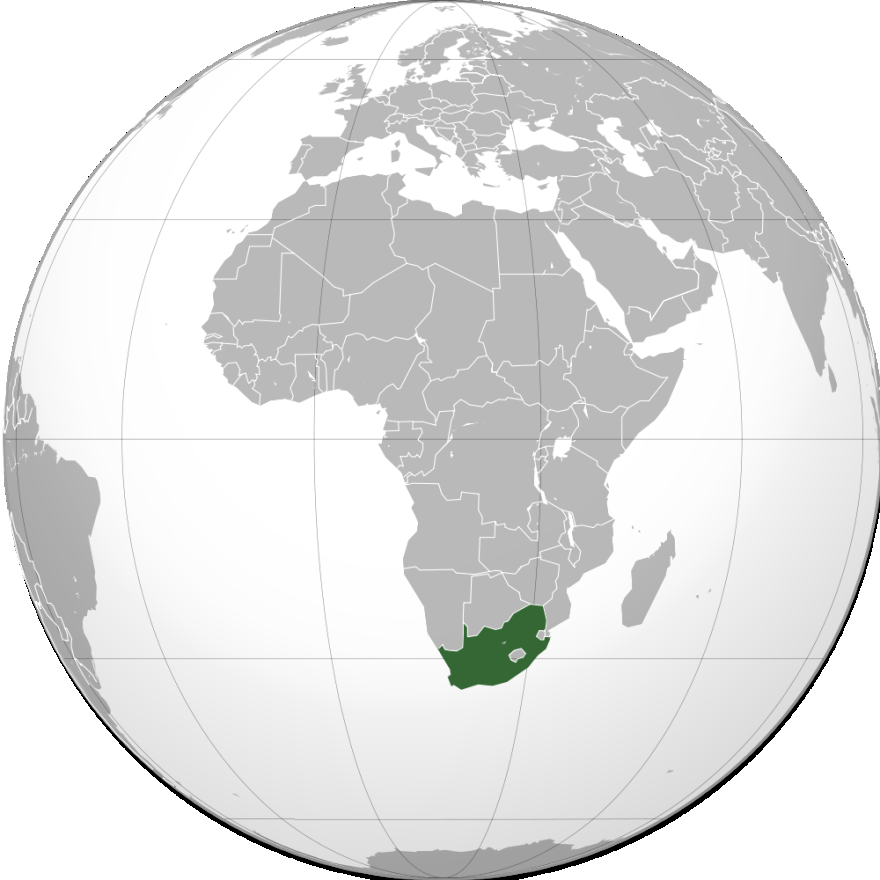 2.1.1 South Africa South Africa is a country with a total area of 1,214,000 km 2, which is somewhat less than twice the size of Texas.