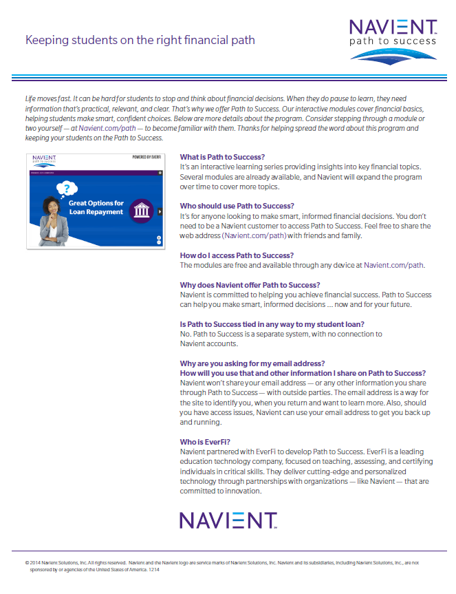 Documents available at: www.navient.