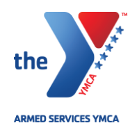 YMCA Provide hands-on, innovative, specialized programs and support services to military service members and their families with a particular focus on junior-enlisted