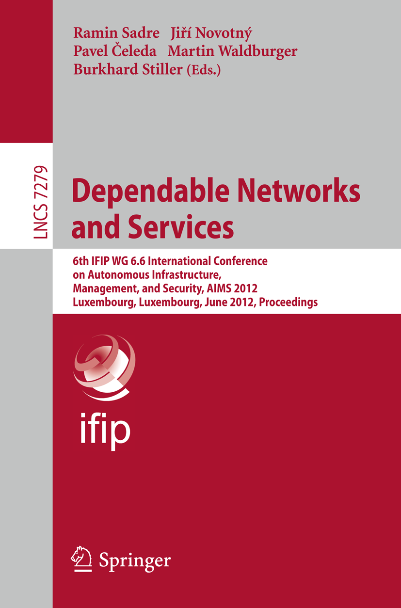 Appendix P Traffic Measurement and Analysis of Building Automation and Control Networks by KREJČÍ, R., P. ČELEDA, and J. DOBROVOLNÝ In: SADRE, R. et al. (Eds.). Dependable Networks and Services.