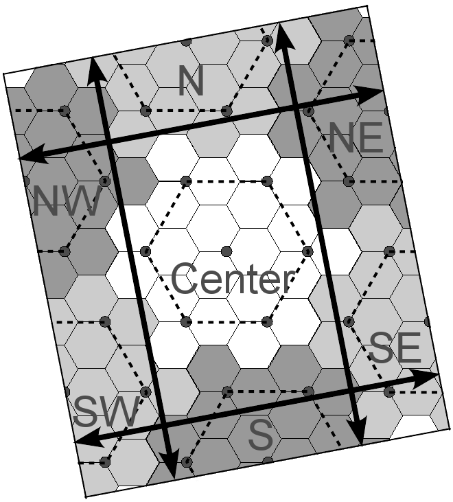 80 Fig. 25. Möbius County map with teleporting directions.