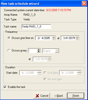RocketRAID 2340 Driver and Software Installation Select the task type