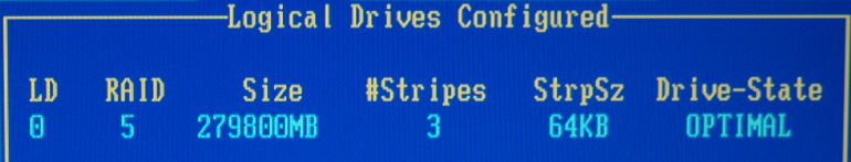 Individual RAID disks/images Disk 0 Disk 1 Disk 2 Disk 3 Disk 4 Stripe1 T H I S Parity Stripe2 A S Parity W Stripe3 R A Parity A Stripe4! Parity I D!
