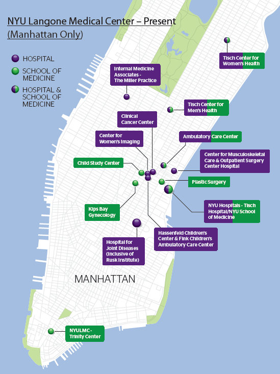 Expanding Inpatient and Ambulatory Facilities in Manhattan Expanded ambulatory presence in the last three years: Musculoskeletal Center (110,000 sq. ft.) Ambulatory Center (300,000 sq. ft.) Outpatient Surgery Center (18,000 sq.