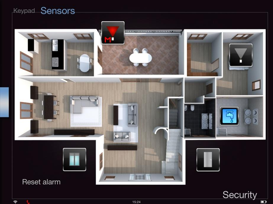 Alarm devices Sensors