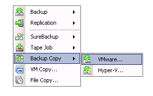 Backup Copy Perhaps the simplest solution to taking data off site is to be able to copy it automatically.