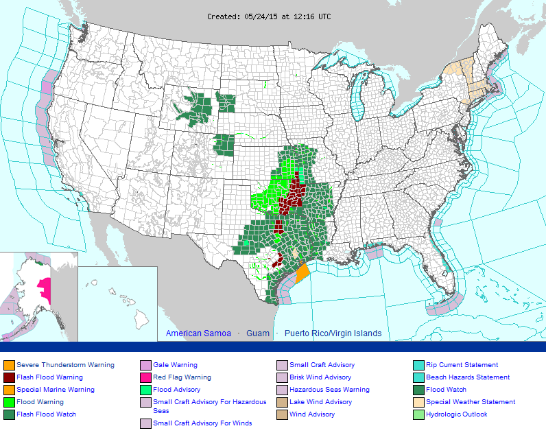 Active Watches/Warnings