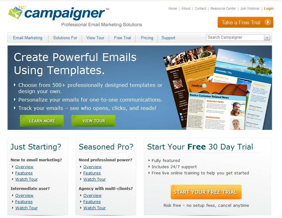 Landing Pages Offer Call-to-action