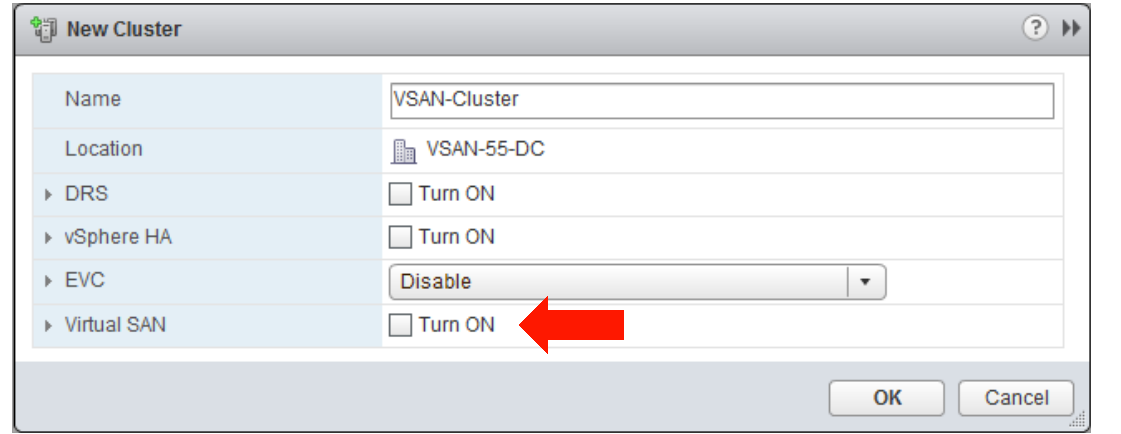VMware Virtual SAN Integration with vsphere 5.