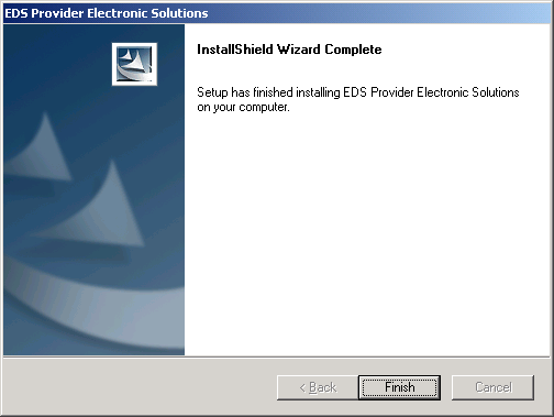 3.3 Install the Software to a Network Step 1. Install the Provider Electronic Solutions software as a: Typical installation Step 2.
