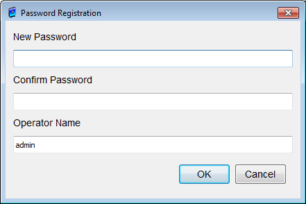 Figure 109: User Password Setup dialog box Here you can define passwords for Radiologist, Technician or Advanced (expert) users to access certain levels and functions.
