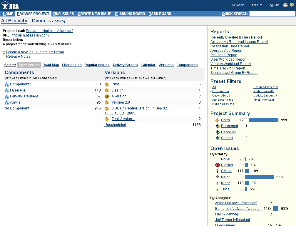 Screen shot 27: JIRA use-case Create new issue (adding details) Screen shot