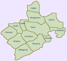 Houston Area Counties (3)