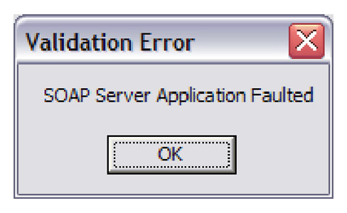 Figure 8 Cisco Unified CRM Connector Validation Error Enable CRM Keepalives This feature is used to ensure that the Microsoft CRM server is continuously polled so that it does not drop objects from