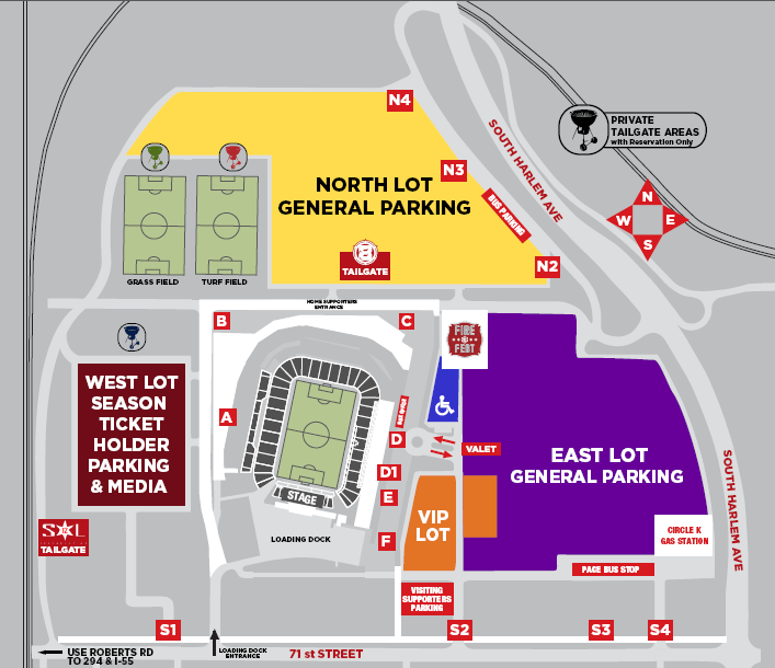 [9] PRE-GAME MEETING & GATE INFORMATION (INGRESS) Bag Checks None: Random: Everyone: Pat Downs None: Random: Everyone: Magnetometers/Wanding None: Random: Everyone: Visiting Supporter Entrance Gate
