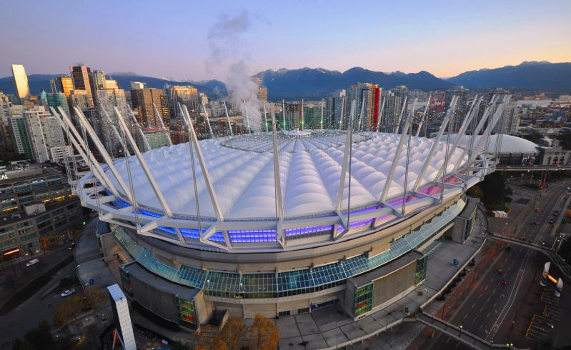 LOCATION The BC Sports Hall of Fame (BCSHF) is strategically located in downtown Vancouver, British Columbia, and physically located within BC Place, which was home of the Opening and Closing