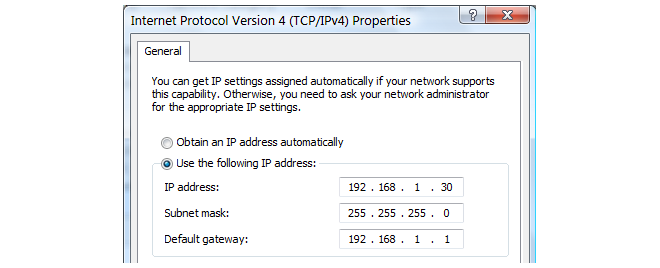 Appendix C: Vista IP Setup Select and display the properties for Internet Protocol Version 4 (TCP/IPv4). 7.