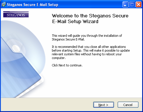 Steganos Secure E-Mail Step by Step Instructions Introduction Although more and more PC users learn that an e-mail can be read by a third party as easily as a postcard, e-mail encryption is still