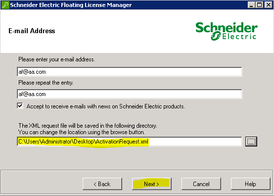 Community titled How to Activate Licenses over a smartphone (https://powersolutionscommunity.schneider-electric.com/thread/3421). 1.