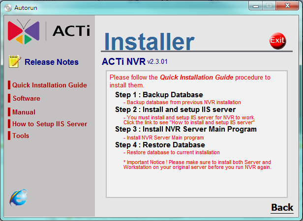 For installing Workstation, just follow the on screen instructions.