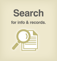 SEARCH Accela GIS Search will be available for