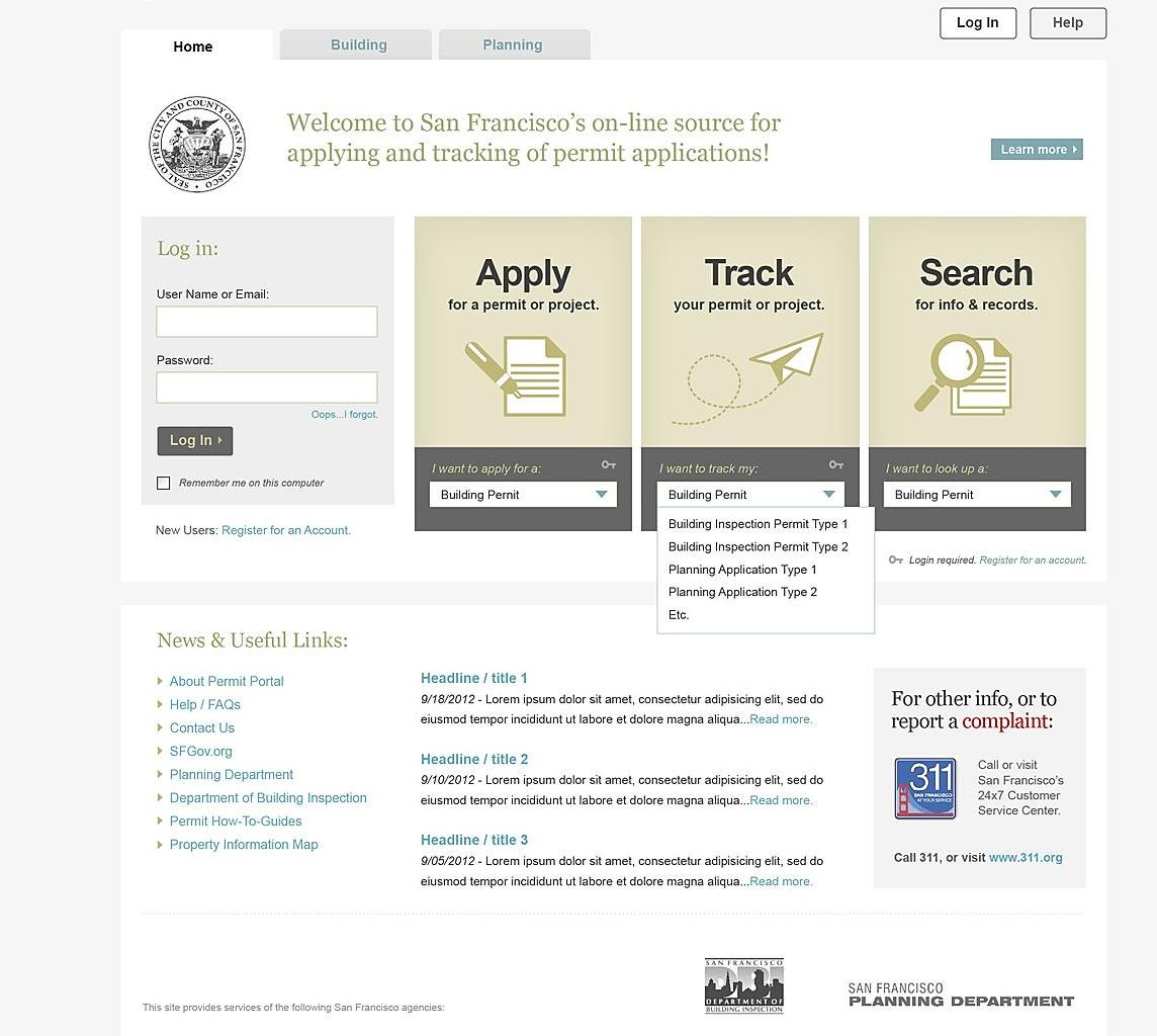 CITIZEN ACCESS WEB