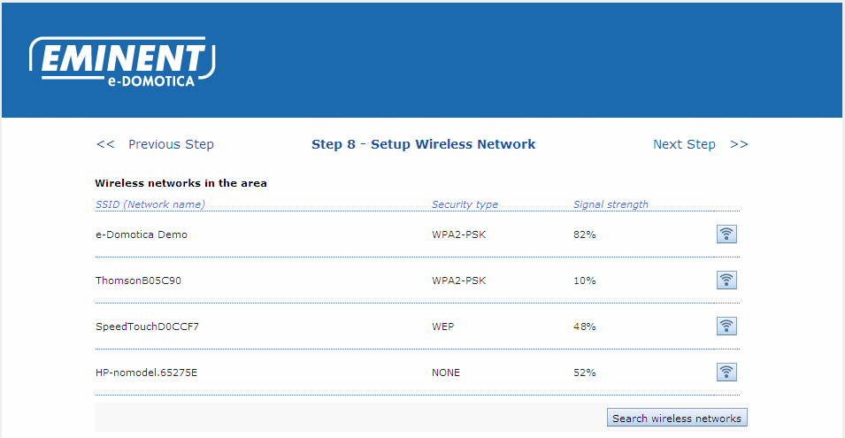26 ENGLISH 3. Add a description for this camera. 4. Select a location from the list. 5. Enter the username of the camera. This is admin by default for all cameras.