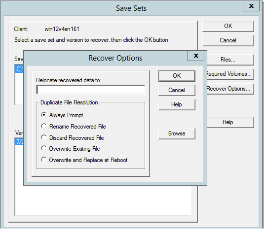 VADP Backup and Recovery (legacy) VM operating system containing partitions without drive letters VM configuration with Virtual IDE Disk Devices (only SCSI) VM configuration with independent disk