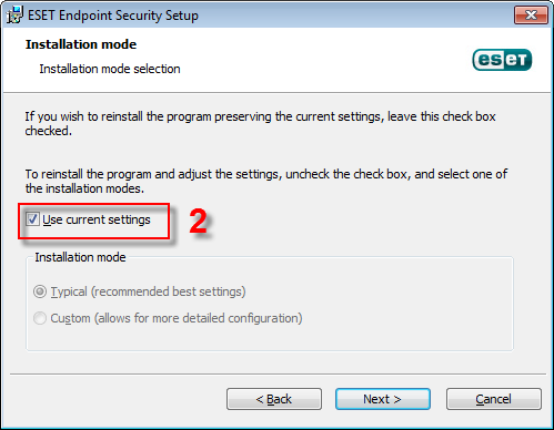 main program window by double-clicking the ESET icon in your Windows notification area or by clicking Start > All Programs > ESET > ESET Smart Security or ESET NOD32 Antivirus.
