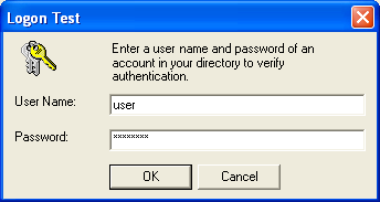 Hyperion FDM Installation Guide Authentication Provider User Verification Tab Logon Attribute enter the attribute that contains the username of accounts in the directory.