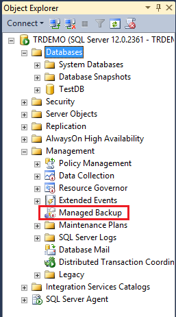 Managed Backup to Microsoft Azure What is it?